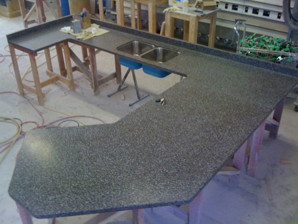synthetic how to install a counter top sink home nearly