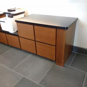 Back Cabinetry - Reception